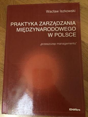 Książka praktyka zarządzania międzynarodowego w Polsce