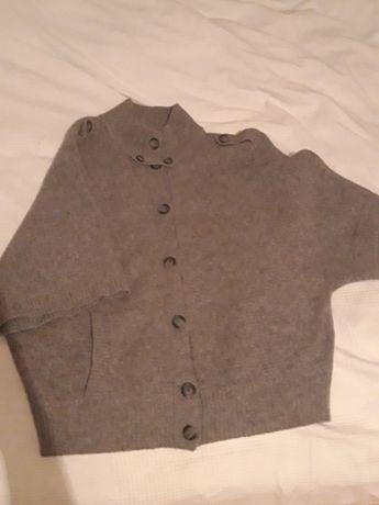 Esprit, sweterek, wdzianko 80% wełna