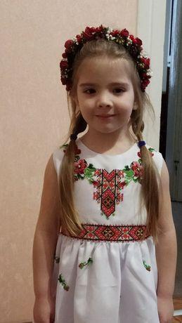 Вишите плаття сукня вишиванка 116-128.