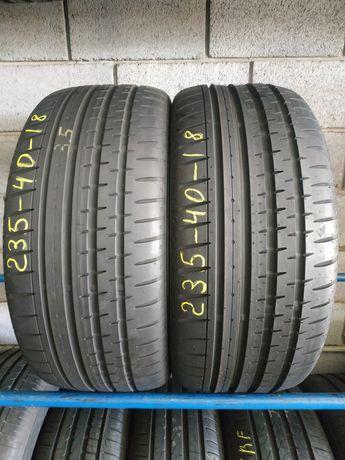 Літні шини 235/40 R18 CONTINENTAL