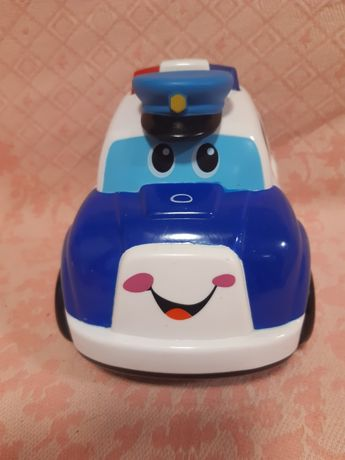 Детская машинка  на батарейках  полицейская.