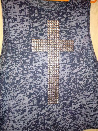 Koszulka new look krzyż M 38