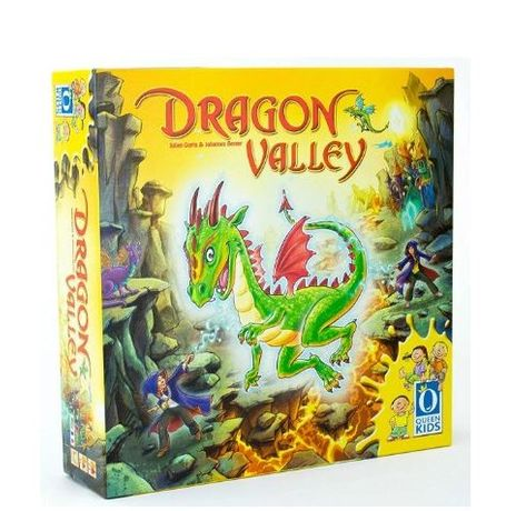 Gra planszowa Queen Games 030011 English/French Dragon Valley
