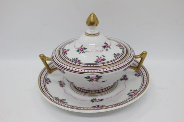 Terrina c Prato 15 cm Ed. Limitada 1500 peças Porcelana Col Artísticas