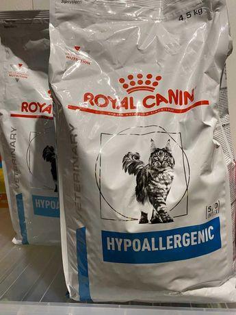 Royal Canin Hipoalergénica 2x 4,5 Kg (Novo com 30% Desconto)