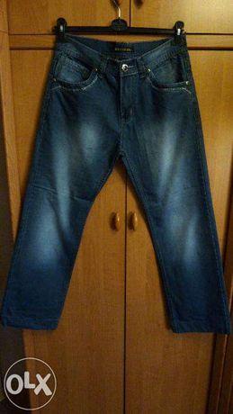 Spodnie jeansowe młodzieżowe, chłopięce