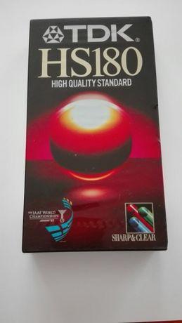Kaseta VHS TDK HS 180 - Chorzów