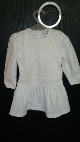 Sukieneczka Topo Mini rozm. 74 biała z koronką