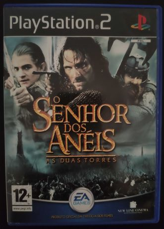 Senhor dos Anéis: As Duas Torres PlayStation 2