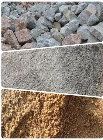 Доставка.Щебінь,пісок,відсів(щебень песок отсев)