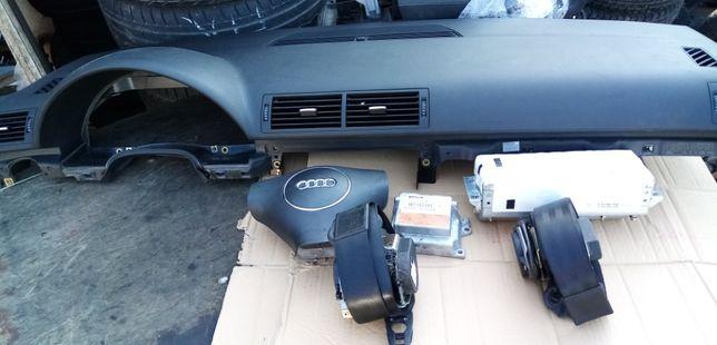 Konsola poduszki pasy Audi A4 B6