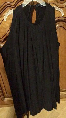 Платье-туника нарядное, туника с камнями, туника с открытыми плечами