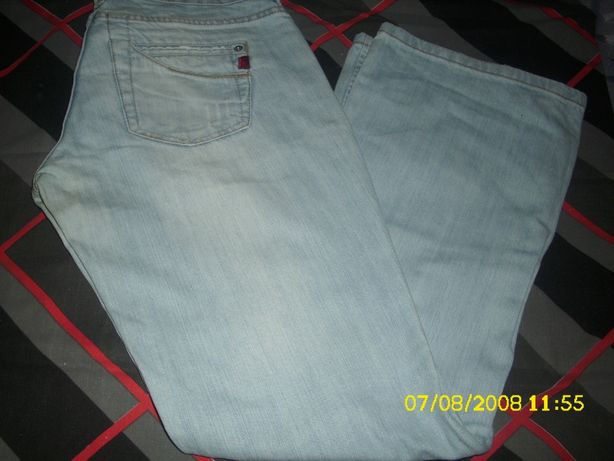 spodnie męskie dżinsowe