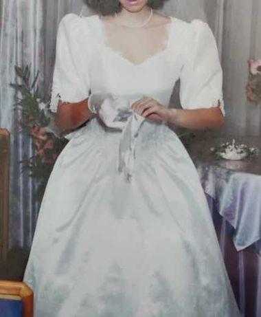 Vestido Noiva Manga Curta Impecável