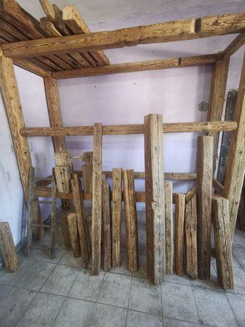 Stare drewno belki bale deski duzy wybór starego drewna z duszą, loft