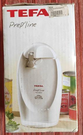 Электрический консервный нож TEFAL 8536 + встроенная точилка для ножей