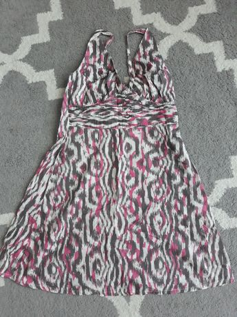 Sukienka letnia  na ramiączka  H&M