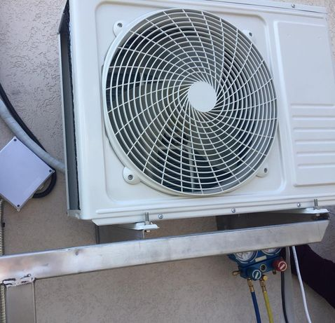 Монтаж кондиционера,  ремонт, чистка и заправка кондиционеров