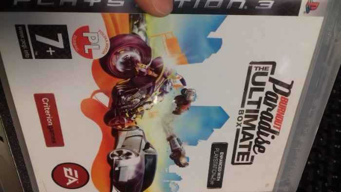 Burnout paradise, the ultimate box ps3, wersja pl Tychy - image 1