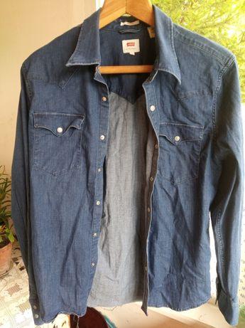 Джинсовая рубашка Levis Western Shirt /Carhartt Diesel G Star Raw