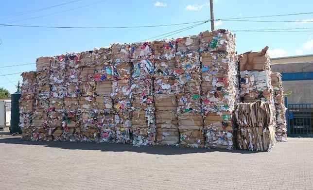 makulatura, folia styropian, skup , odbiór, transport odpadów, BDO