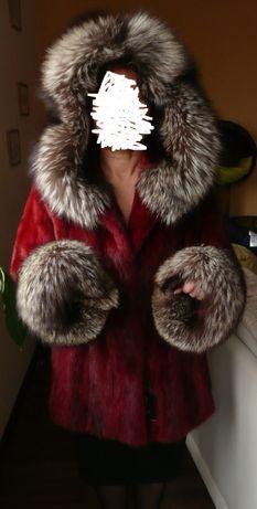 LaFURIA SAGA MINK futro kurtka z norek norki LIS NOWE z METKAMI