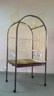 Вольер, клетка для крупных попугаев 78х60х156