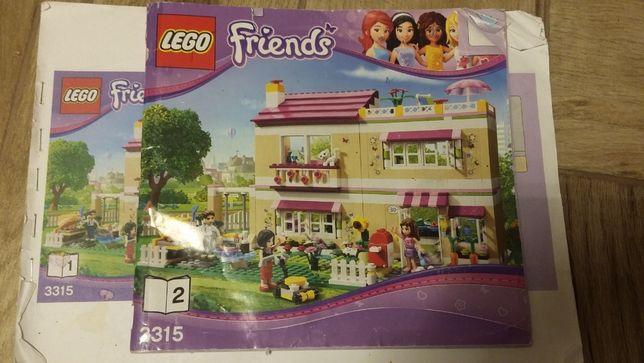 Lego Friends 3315 дом Оливии