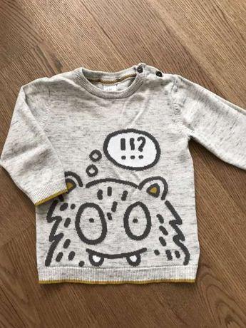 Продам свитер hm на мальчика размер 9-12 мес