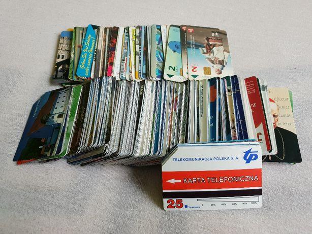 karty telefoniczne (polskie + zagraniczne)