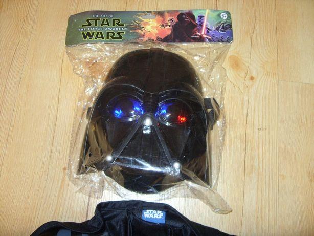 nowa świecąca maska star wars lord vader