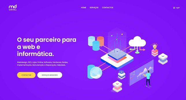 Webdesign, lojas online e outras soluções para a web