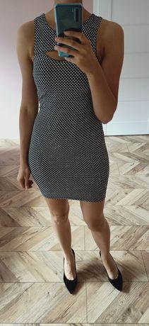 Sukienka mini Topshop pepitka XS 34