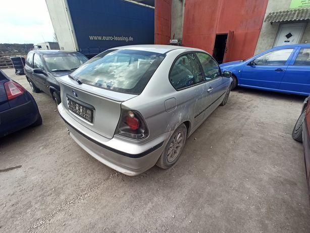 BMW E46 Compact klapa tył tylna kompletna stan bdb Wysyłka