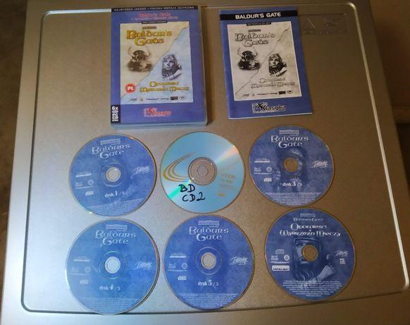 Baldurs Gate + Opowieści z Wybrzeża Mieczy - gry PC