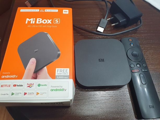 Xiaomi Mi Box S 4k przystawka Android TV Smart TV
