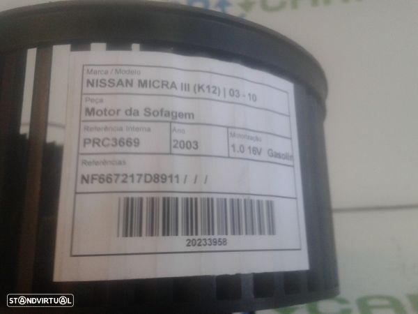 Motor Da Sofagem Nissan Micra Iii (K12)