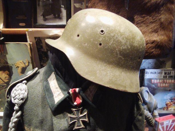 Militaria, Capacete usado na Guerra Civil de Espanha.