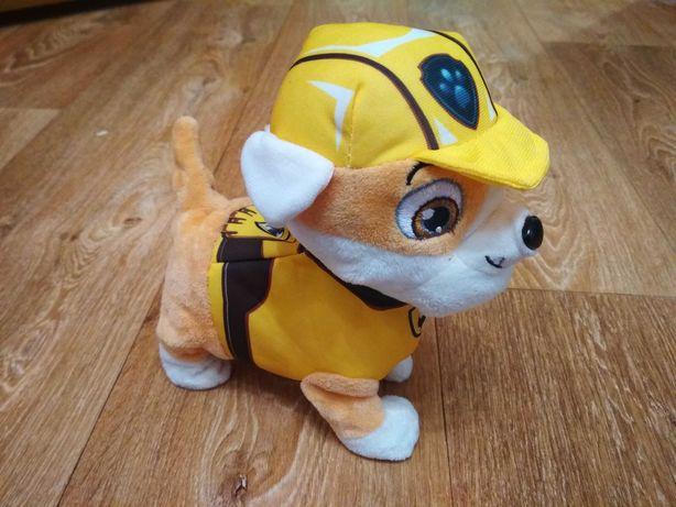 Мягкая интерактивная игрушка щенячий патруль