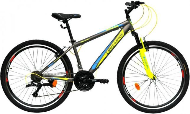 "Велосипед Crossride Shark 24 _26"" 13"" 2020 Серый"