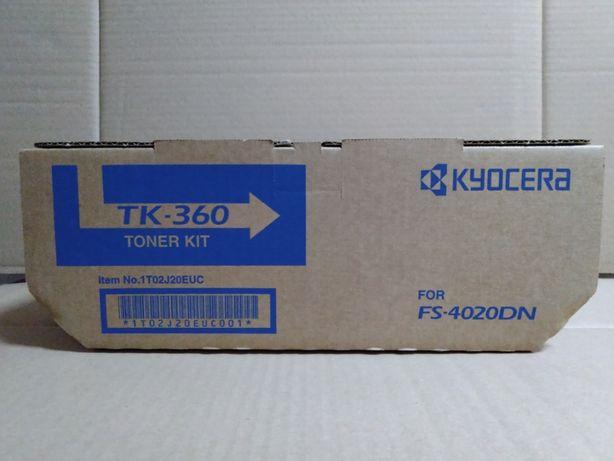 Тонер-картридж Kyocera Mita TK-360 Black оригинал