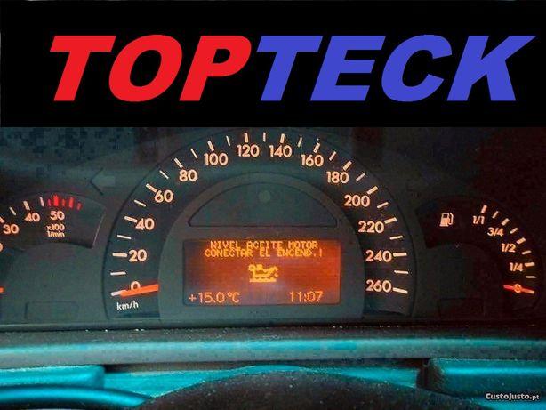 Reparação De Quadrantes LCDs Mercedes W203