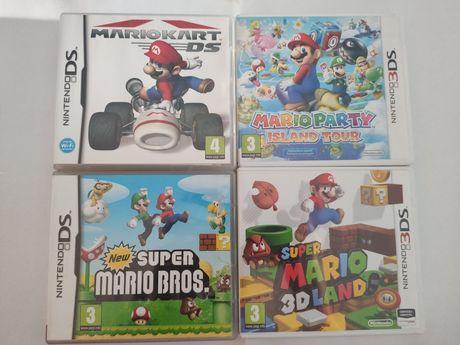 Jogos super Mario para Nintendo DS e 3Ds