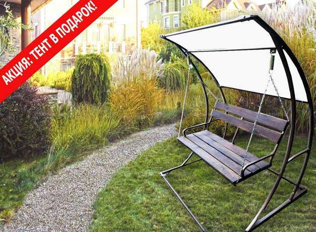 Надійна, практична гойдалка садова ( качели садовые) виробник Україна