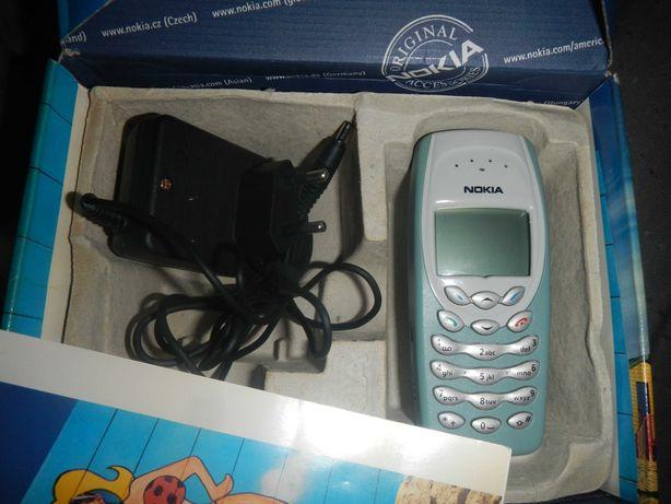 Nokia 3410 nowa bez simlocka kartonik papiery