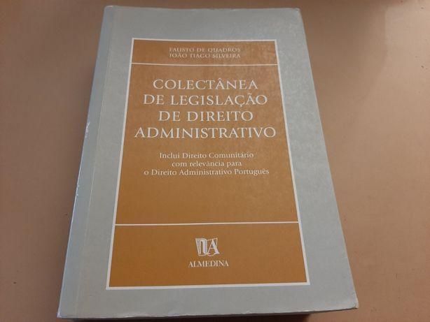 Coletânea de Legislação de Direito Administrativo – Fausto de Quadros
