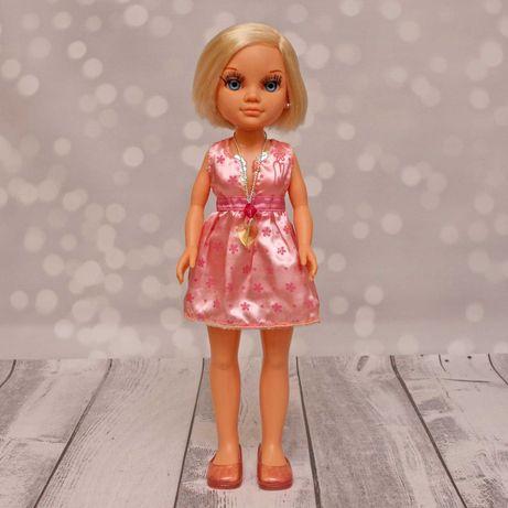 Hiszpańska lalka Nancy Famosa 42cm różowa sukienka