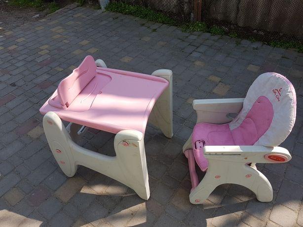 Столик и стульчик детский бу
