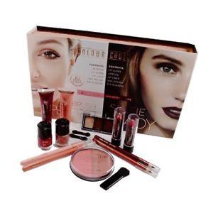 zestaw kosmetyków Kolor Couture 15 sztuk Blush Nudes & Mulberry Nights
