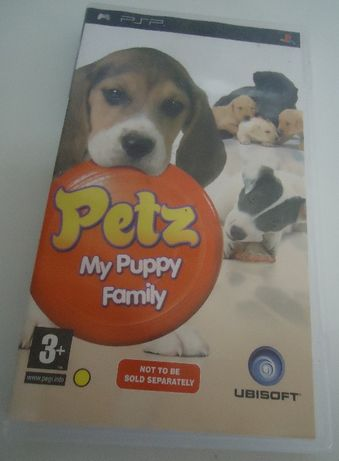 Jogo PSP - Petz My Puppy Family